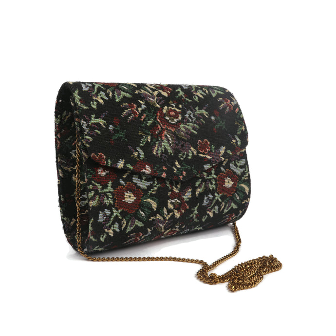 Multicolour Floral Garden Clutch
