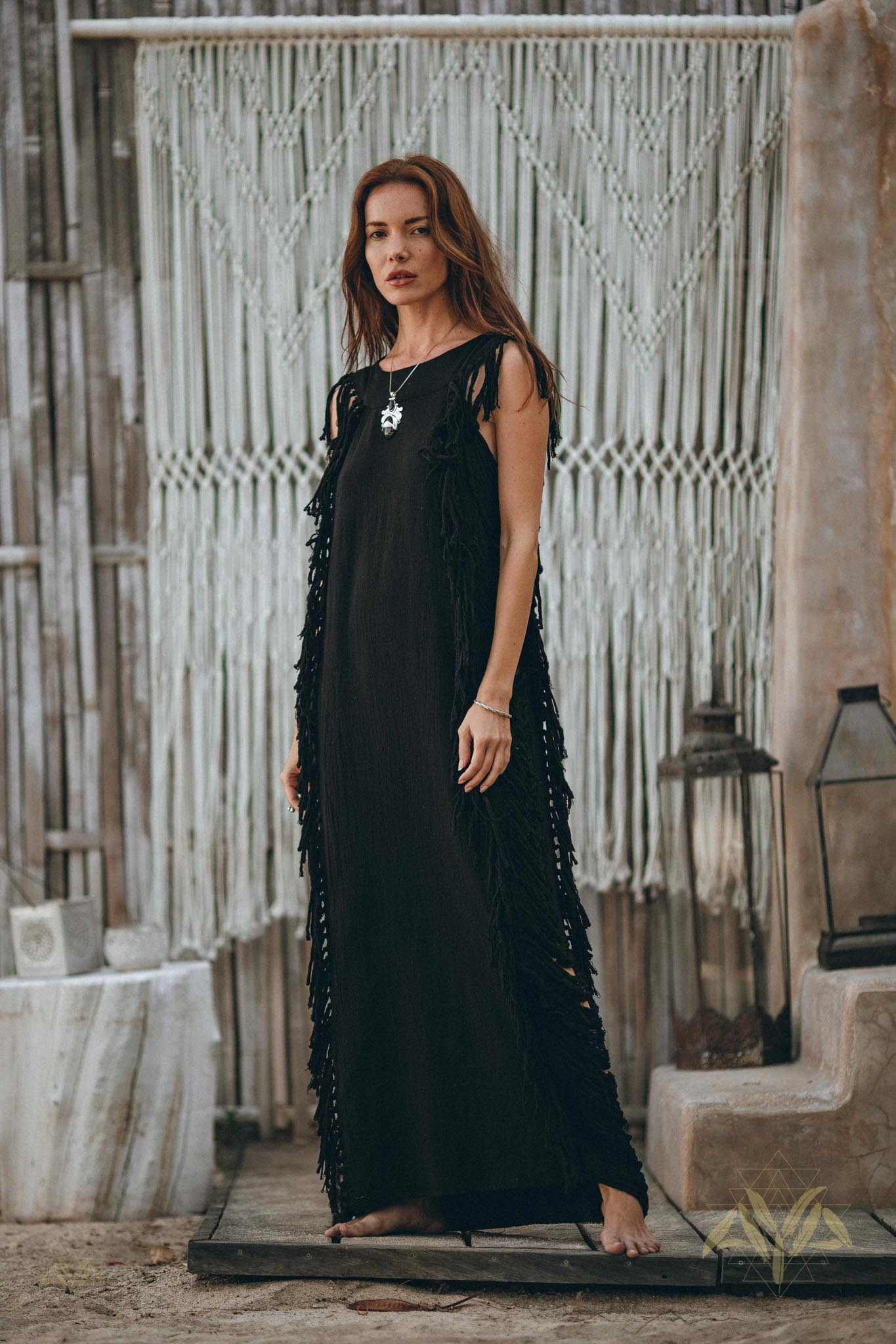 New! Black Boho Dress • Bohemian Dress • Boho Dresses For Women - aya.eco