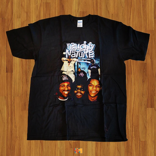 VTG NAUGHTY BY NATURE HOMAGE T SHIRT