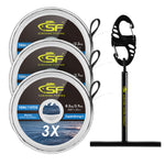 SF Clear Monofilament Nylon Tippet Line