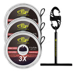 SF Clear Fluorocarbon Tippet Line with Holder