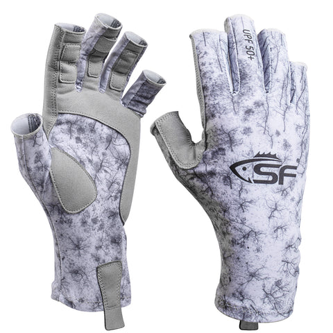 SF UV Protection Fishing Gloves