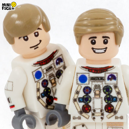 custom lego minifigures space apollo neil armstrong