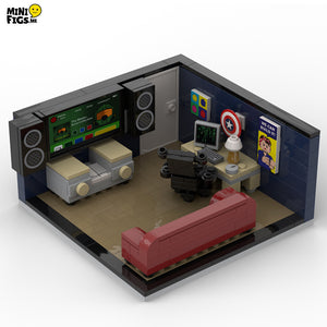 Gaming Room Printed Accessories