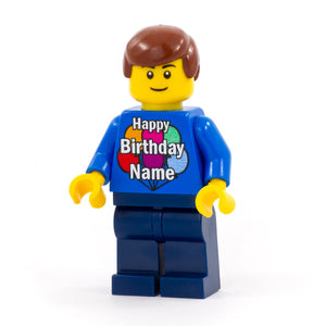 Happy Birthday NAME Minifigs