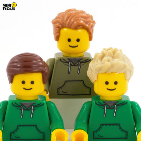 short hair cusotm lego minifigures