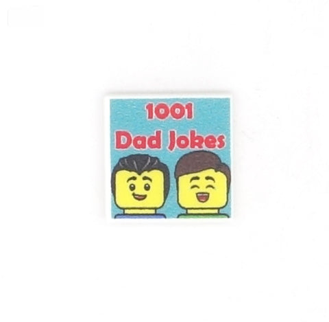1001 Dad Jokes - Custom Design Tile