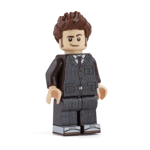 10th Doctor - Custom Design Minifigure