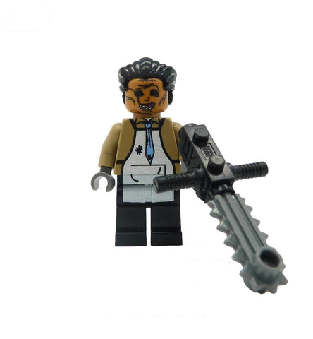 custom lego texas chainsaw massacre minifigure