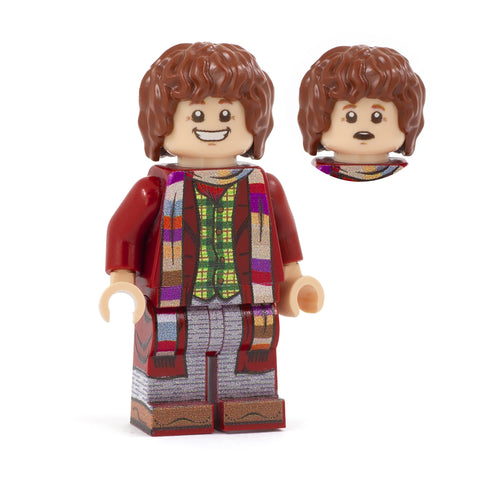 4th Doctor - Custom Design Minifigure