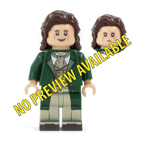 8th Doctor- Custom Design Minifigure