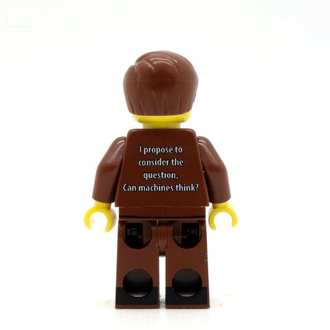 Alan Turing Custom Design LEGO Minifigure