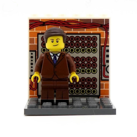 Alan Turing - Custom Design Minifigure