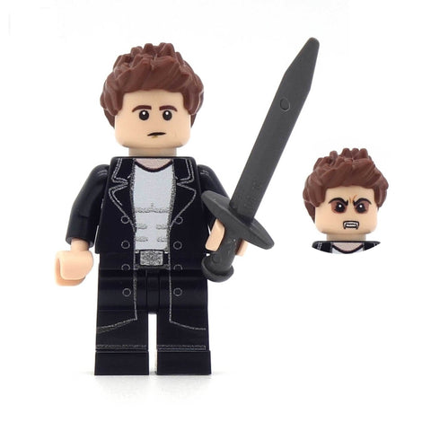 Angel, Buffy the vampire slayer, custom lego minifigure set