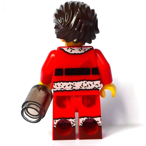 Bad Santa - Custom Design Minifigure