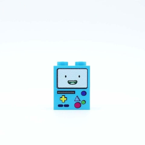 Smiley Console Custom Designed Brickfig