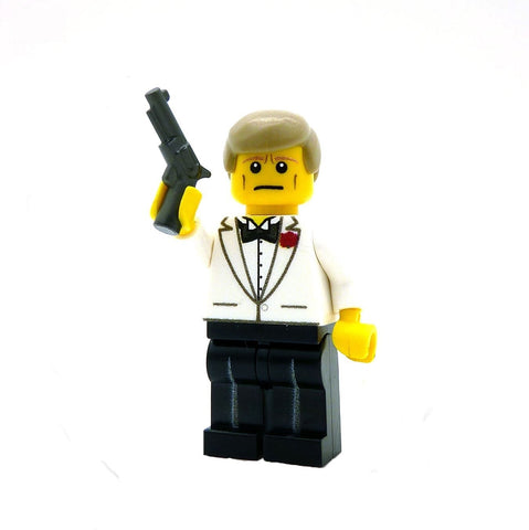 James Bond Custom LEGO Minifigure