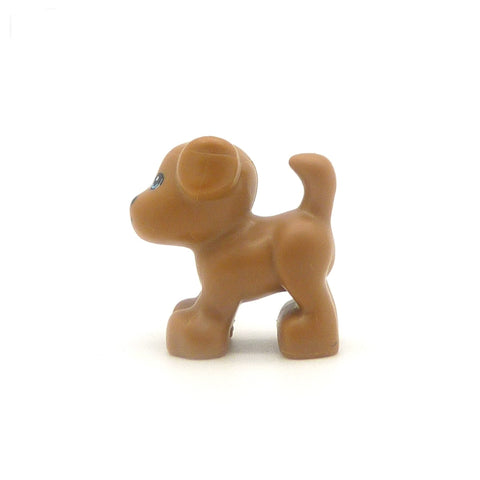 Little LEGO Light Brown Dog