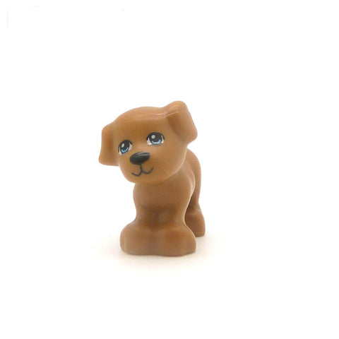 Little LEGO Dog (Light Brown)