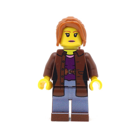 Donna the Companion from Doctor Who - Custom Design LEGO Minifigure