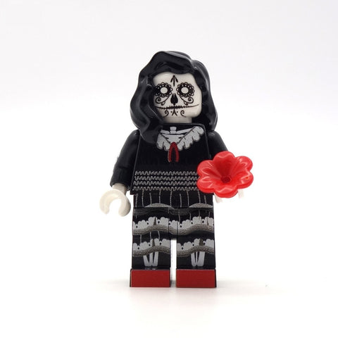 Day of the Dead Bride and Groom - Custom Design Minifigures