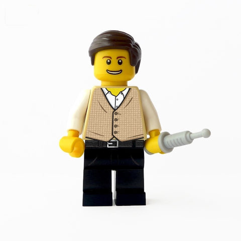 custom lego firefly simon doctor minifigure