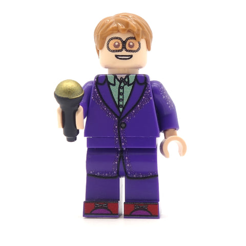 Elton John, Current - Custom LEGO Minifigure