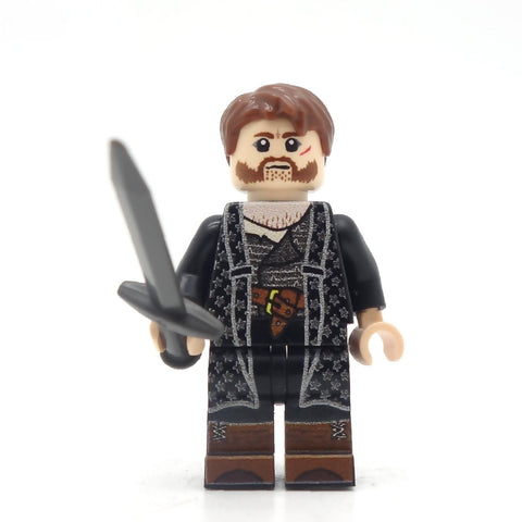 Euron Greyjoy, Game of Thrones, Custom LEGO Minifigure