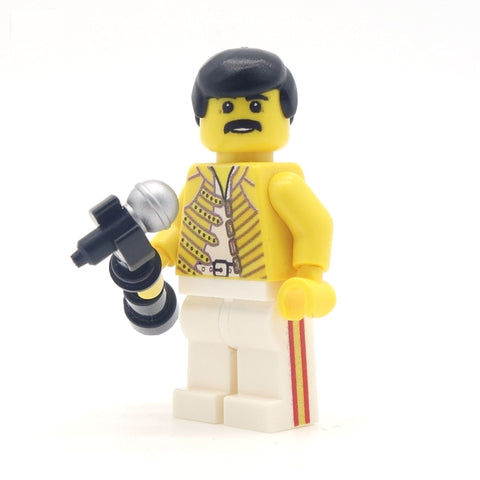 freddie mercury custom lego minifigure queen