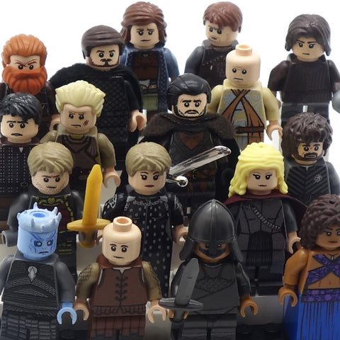 Full Range of Ganme of Thrones (Medieval Fantasy) Minifigs - Custom LEGO Minifigures