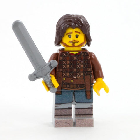 Bronn, Medieval Fantasy, Game of Thrones - Custom Design LEGO Minifigure