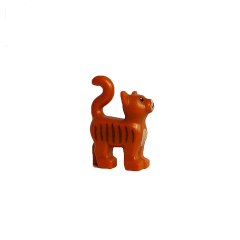 Ginger LEGO Tabby Cat