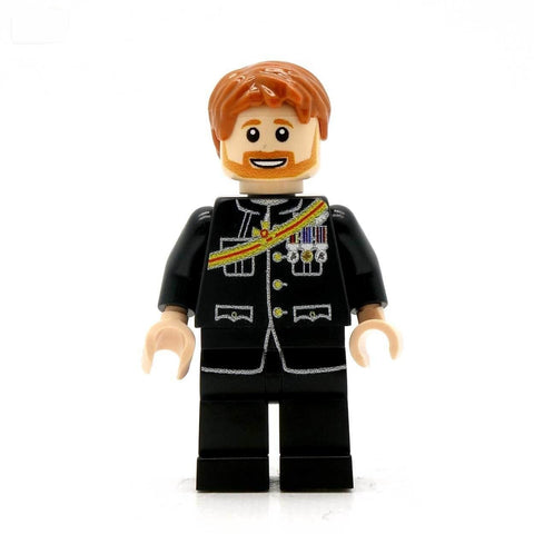 Prince Harry - Custom Design Minifigure