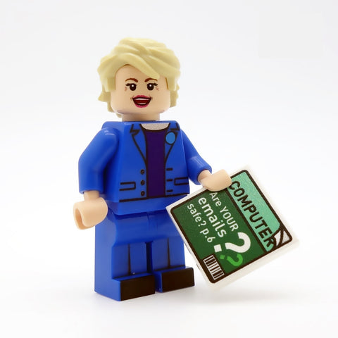 Hillary Clinton - Custom Design Minifigure