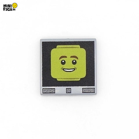 Red Dwarf's Holly - Custom LEGO Tile