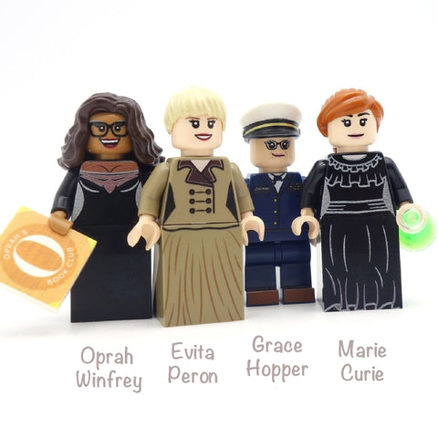 Inspirational Women (IWD 2018) - Custom Designed Design Minifigures