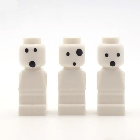 Kodamas (pack of three) Custom LEGO Microfigures