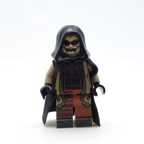 custom lego krampus minifigure