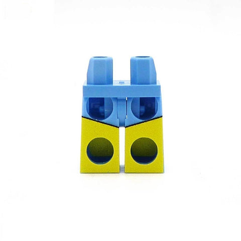 Plain Swimming Shorts - Custom Printed Minifigure Legs