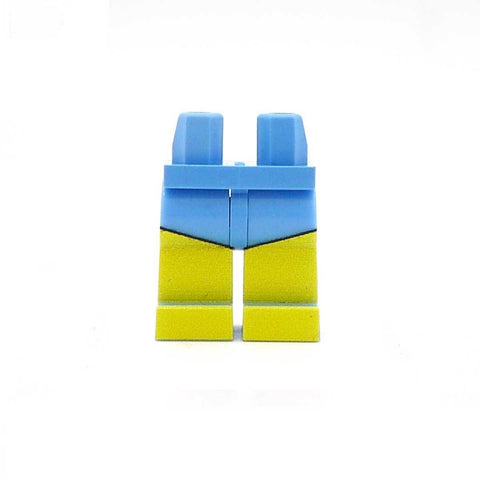 Plain Swimming Shorts Custom Printed Minifigure Legs
