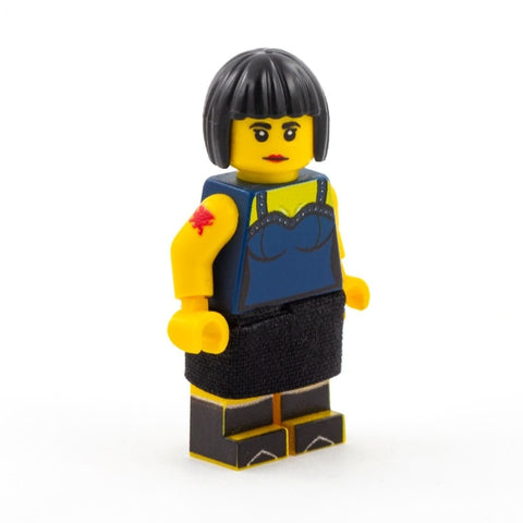 Nessa, What's Occurin' - CUSTOM DESIGN LEGO MINIFIGURE