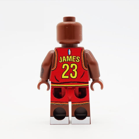 Basketball Playing Icon - Custom Design Minifigure