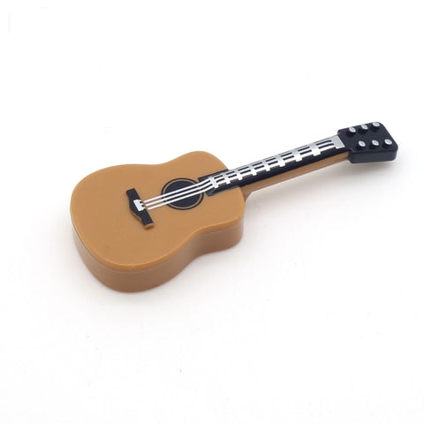 Light Brown LEGO Acoustic Guitar