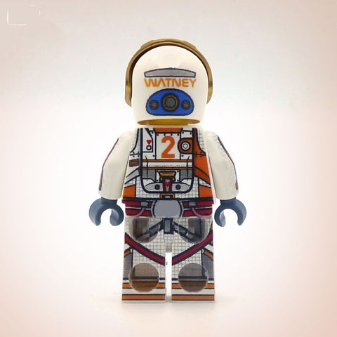 Martian Explorer - Custom Design Minifigure
