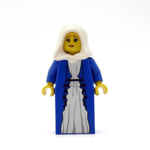Joseph, Mary & Jesus - Custom Design Minifigure Set