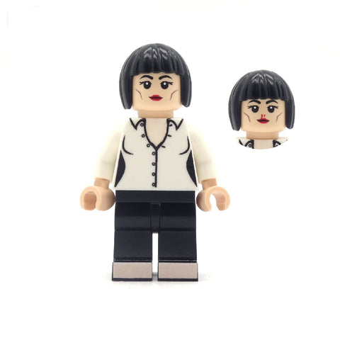 Mia, Pulp Fiction - Custom LEGO Minifigures, inspired by Pulp Fiction