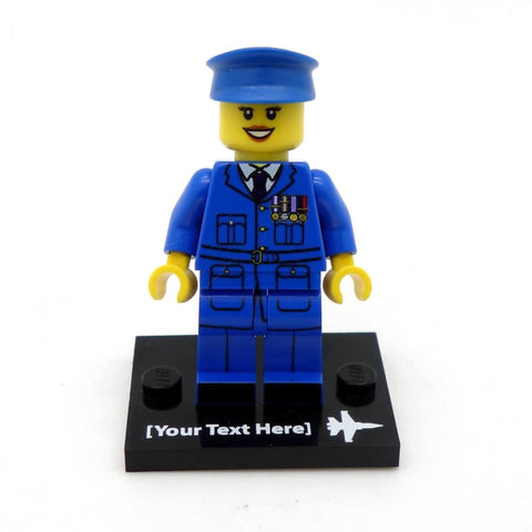 Personalised Armed Forces Minifigure in Uniform Custom Printed LEGO Minifigure
