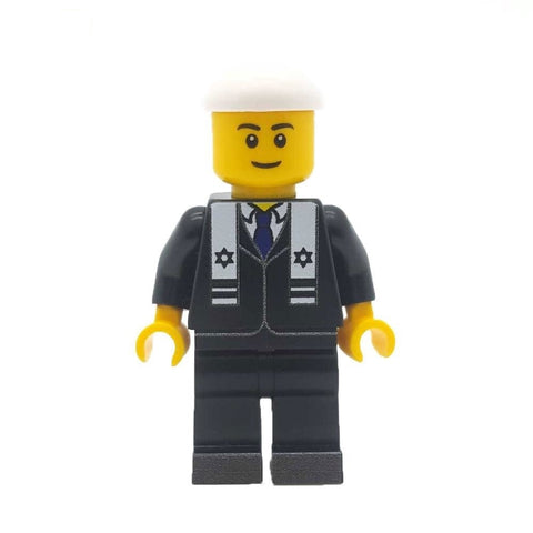 Custom Designed Rabbi Custom LEGO Minifigure