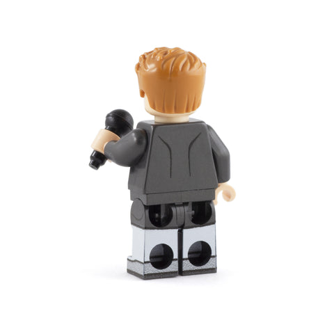 Brick Astley - Custom Design Minifigure