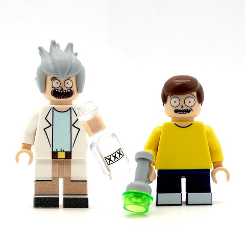 Brick and Shorty - Custom Design Minifigure Set
